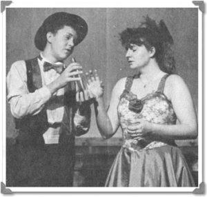 Gold Fever Follies Cast 1988