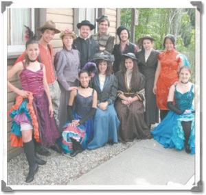 Gold Fever Follies Cast 2011