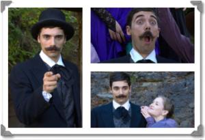 Daniel Merlo in costume